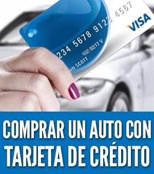 comprar un auto con una tarjeta de crédito