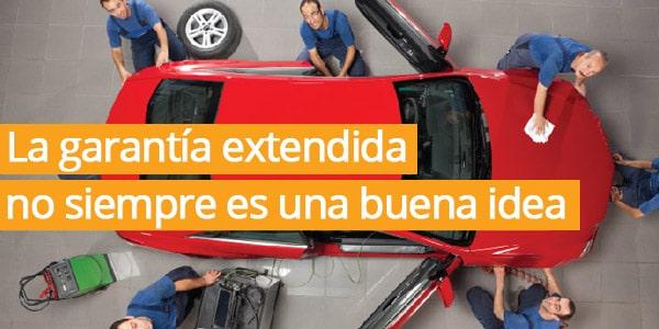 garantía extendida para Toyota, Chevrolet, Nissan, Honda, VW, Ford