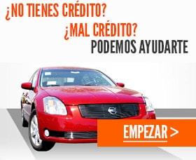 Lease de autos down payment mal credito