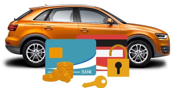 Pagar un auto con tarjeta de credito