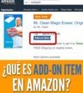 Qué es add-on item amazon