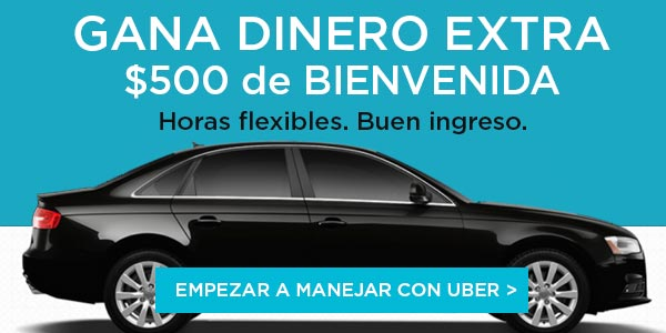 Trabajar con uber en estados unidos ganar dinero extra