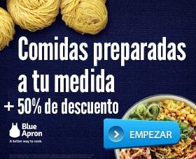 Blue apron analisis cupon descuento oferta