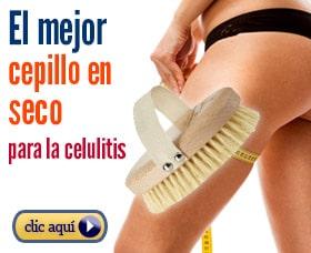 Cepillado en seco para eliminar la celulitis de los muslos