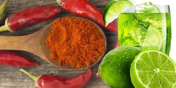 Esconder la celulitis con jugo de limón y pimienta de Cayena
