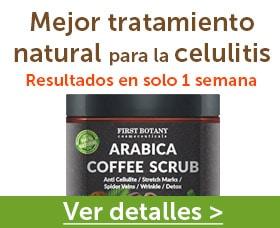 Granos de cafe para reducir la celulitis