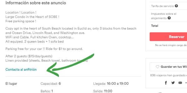 buena experiencia airbnb comunicate anfitrión o host