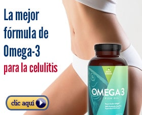 Dieta para eliminar la celulitis omega 3