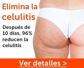 Eliminar la celulitis de las piernas muslos pompis