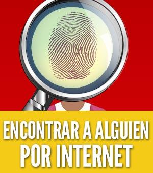 Encontrar a alguien por internet online