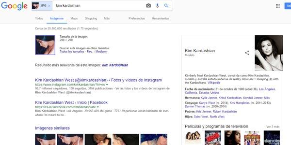 Encontrar las redes sociales de alguien google imagenes