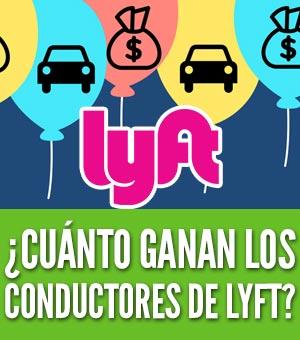¿Cuánto ganan los conductores de lyft?