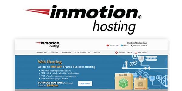 Inmotion hosting alojamiento web compartido