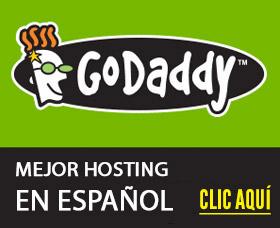 Mejor servicio hosting en espanol godaddy