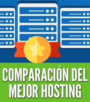 Mejores hosting Comparación alojamiento web