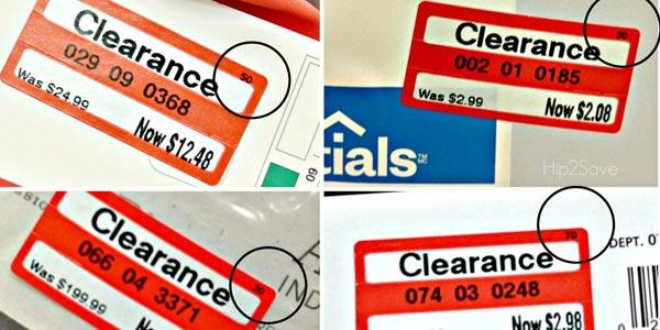 Todo sobre las etiquetas clearance ahorrar en target