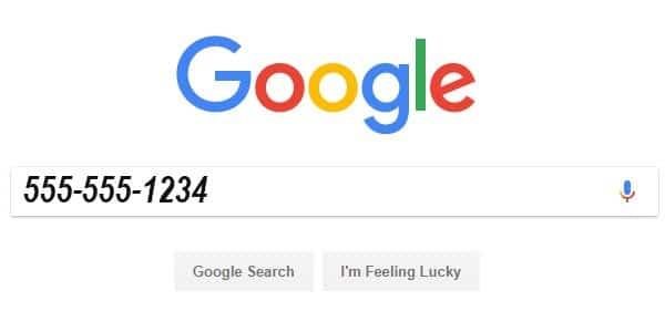 Usa el poder de Google para saber quién te llama