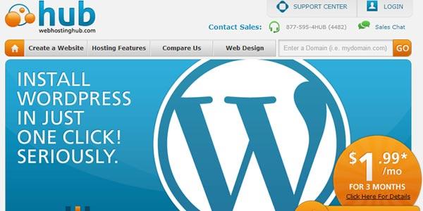 Webhostinghub mejor hosting rapido barato seo