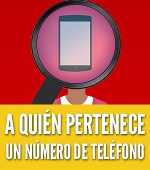 averiguar a quién pertenece un número de celular movil