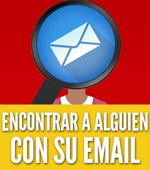 encontrar a alguien con su email o correo electrónico