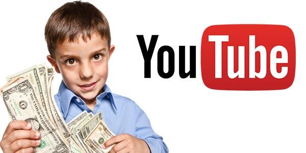 Ganar dinero en youtube menos de 18 anos