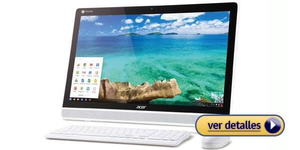 Acer Chromebase All In One Mejor computadora barata