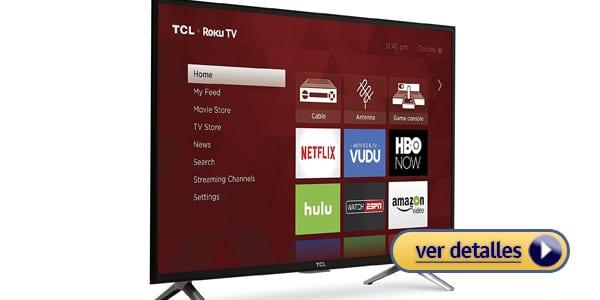 Mejor televisor barato tcl 32s305