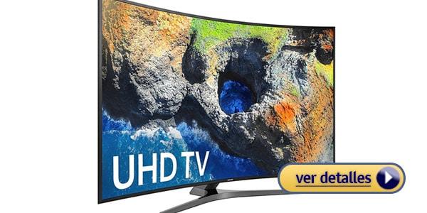 Mejor televisor 2021 con pantalla curva samsung un49mu7500