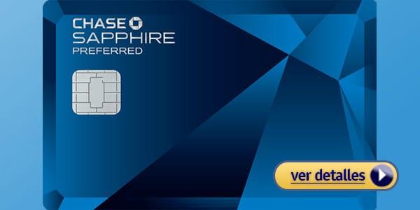 Mejores tarjetas de credito Chase Sapphire Preferred