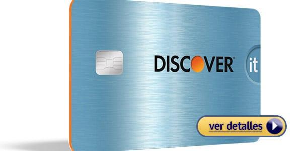 Mejores tarjetas de crédito de este año: Discover