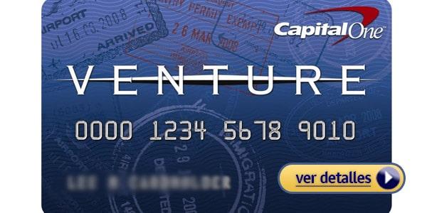 Mejores tarjetas de crédito para viajes: Capital One Venture Rewards