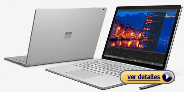 Microsoft Surface Book Mejor Laptop Hibrida Windows