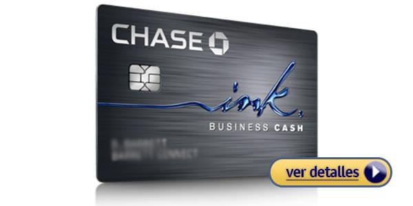 Tarjetas de crédito con ofertas para pequeños negocios: Chase Business Ink Cash