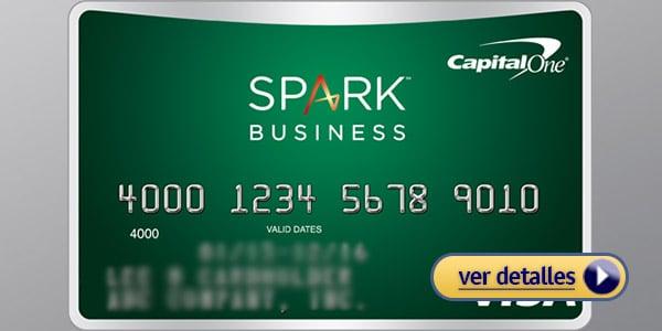 Tarjetas de crédito para negocios Capital One Spark Cash
