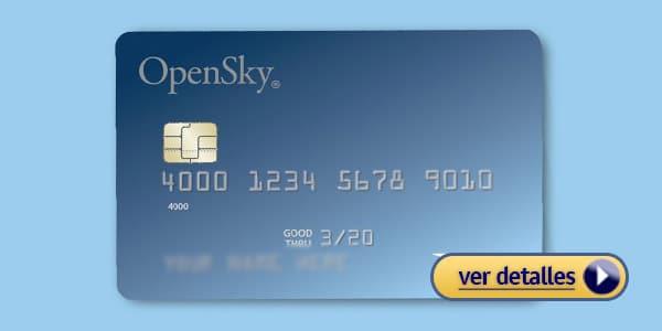 Tarjetas para construir credito OpenSky de Capital Bank