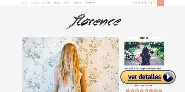 Tema premium wordpress florence