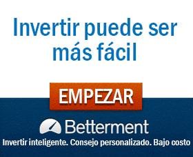 Betterment invertir 100 dolares automaticamente