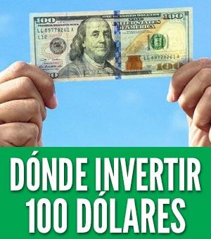 Cómo invertir 100 dólares