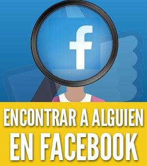 encontrar una persona en Facebook