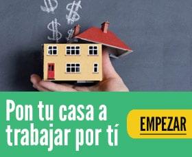 ganar dinero con tu casa real estate