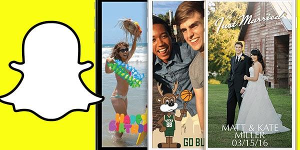 ganar dinero disena y vende filtros de Snapchat