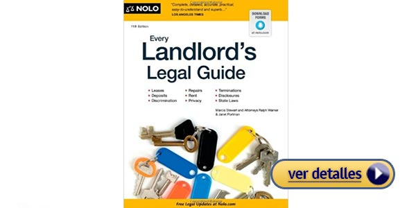 Every Landlords Legal Guide libros real estate