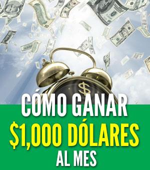 ganar 1000 dolares al mes