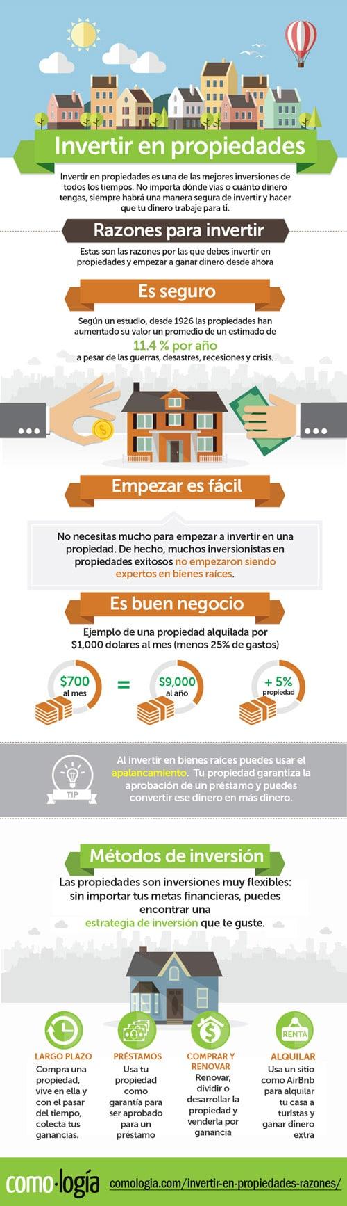 invertir en propiedades ventajas