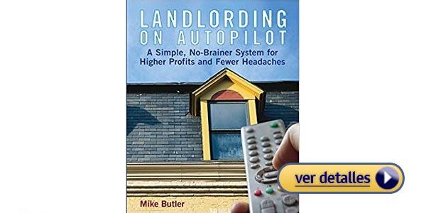 mejores libros de bienes raices Landlording on Autopilot Mike Butler