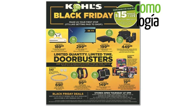 Kohl's Black Friday - Página 1