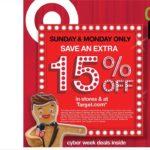 Ofertas Target Cyber Monday - Página 1