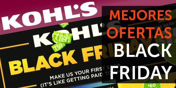 kohl's ofertas viernes negro black friday