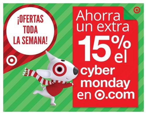 ofertas target cyber monday cyber lunes cibernetico