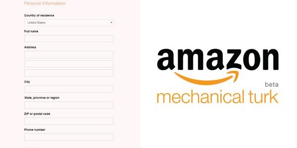 aplicacion para trabajar con amazon mechanical turk